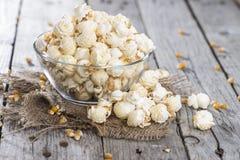 Portion of fresh made Popcorn Royalty Free Stock Photos