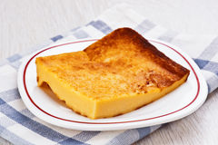 Portion of freshly baked cheese cake Royalty Free Stock Photography
