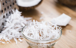 Portion of Grated Coconut Royalty Free Stock Image