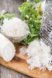Portion of grated Horseradish Royalty Free Stock Photography
