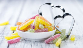Portion of Gummi Candy Royalty Free Stock Photo