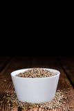 Portion of Hemp Seeds Stock Photography