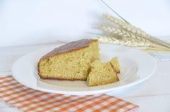 Portion of homemade cake Stock Image
