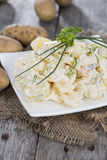 Portion of homemade Potato Salad Stock Images
