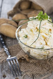 Portion of homemade Potato Salad Royalty Free Stock Photo