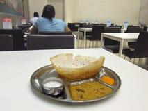 Portion indienne Appam de restaurant Photographie stock