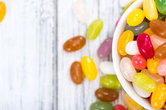 Portion of Jelly Beans Stock Photo