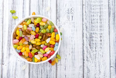 Portion of Jelly Beans. Portion of colorfull Jelly Beans (close-up shot Royalty Free Stock Images