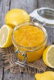 Portion of Lemon Jam Stock Image