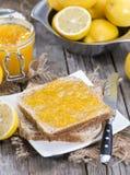 Portion of Lemon Jam Royalty Free Stock Photo