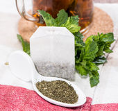 Portion of Mint Tea Stock Images