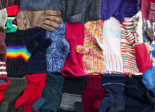 Portion of Mitt and Glove Quilt Royalty Free Stock Images