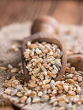 Portion of mixed Cereals Royalty Free Stock Image