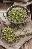 Portion of Mung Beans Stock Photo