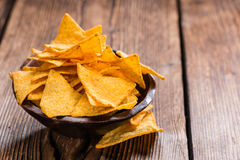 Portion of Nachos Stock Images