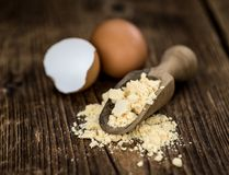 Free Portion Of Powdered Eggs As Detailed Close-up Shot; Selective Focus Royalty Free Stock Photo - 167960645