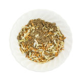 Portion of onion soup mix in bowl. Royalty Free Stock Image