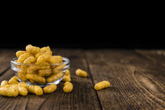 Portion of Peanut Puffs Royalty Free Stock Photography