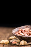 Portion of Peanut Seeds Stock Photography