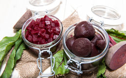 Portion of pickled Beetroot Royalty Free Stock Photography