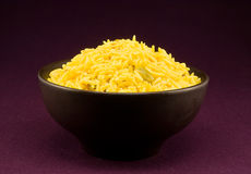 Portion pilau rice Stock Image