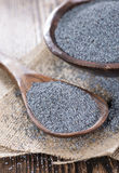 Portion of Poppyseed Stock Image