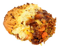 Portion Of Potato Topped Cottage Pie Stock Photography