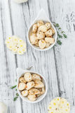 Portion of Preserved Garlic Royalty Free Stock Image