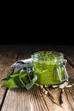 Portion of Ramson Pesto Stock Image