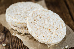 Portion of Rice Cakes Stock Image
