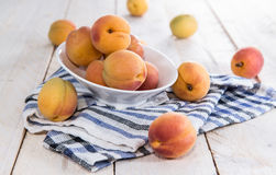 Portion of ripe Apricots Royalty Free Stock Photo