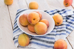 Portion of ripe Apricots Royalty Free Stock Image