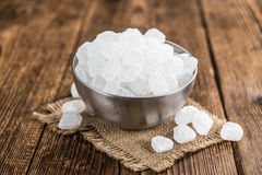 Portion of Rock Sugar Stock Image