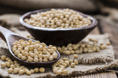 Portion of Soy Beans Stock Photos