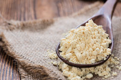 Portion of Soy Flour Royalty Free Stock Image