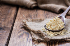 Portion of Soy Flour Stock Photo