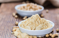 Portion of Soy Flour Stock Photos