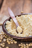 Portion of Soy Flour Royalty Free Stock Images