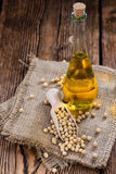 Portion of Soy Oil Royalty Free Stock Image