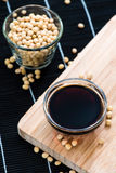 Portion of Soy Sauce Stock Photography