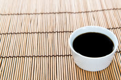 Portion of Soy Sauce Royalty Free Stock Photos