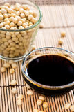 Portion of Soy Sauce Royalty Free Stock Image