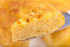 Portion of Spanish tortilla (omelette) Royalty Free Stock Photography