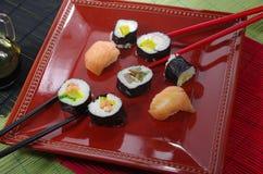 Portion sushi Royalty Free Stock Photos