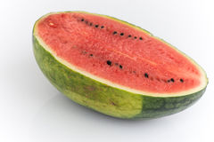 Portion of Watermelon with isolated background Stock Images