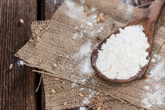 Portion of Wheat Flour Stock Images
