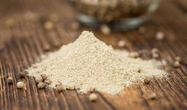 Portion of White Pepper Royalty Free Stock Images