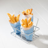 Portions Of Fries Stock Photography