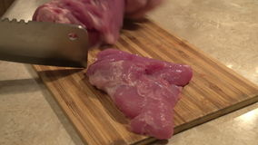 Portions of meat stock video footage