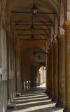 Portique antique en pierre Photos libres de droits